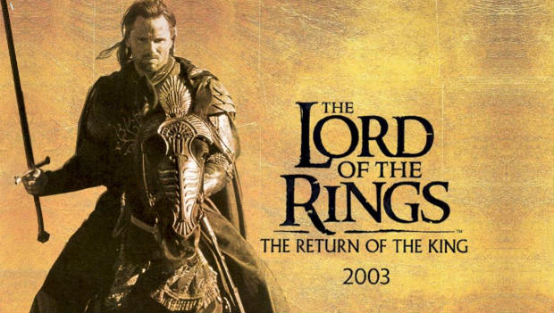 The Lord of the Rings Return of the king screen