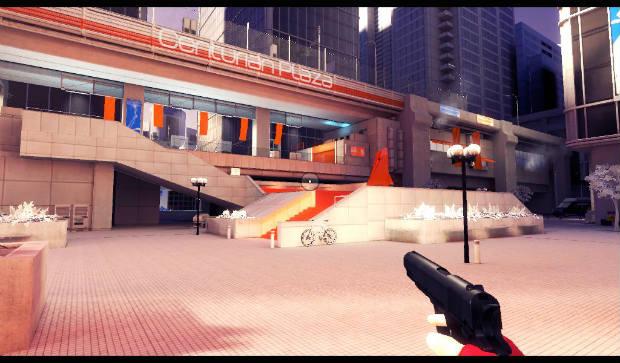 Mirror's Edge пистолет