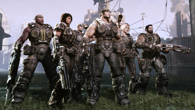 Gears of War 3 герои