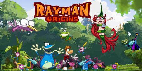 rayman origins Лого