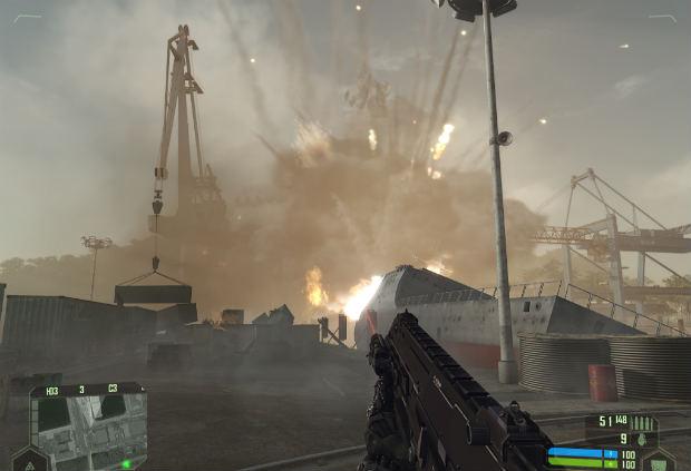 Взрыв авиабомбы