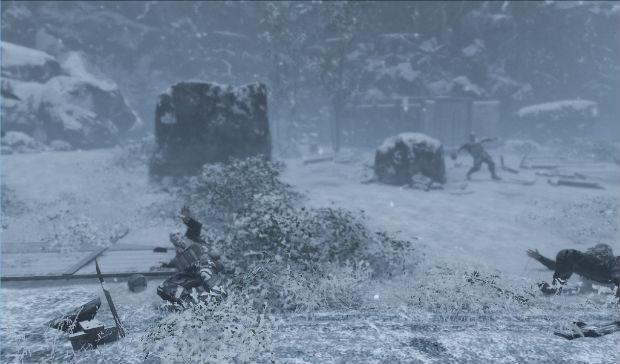 Замерзшие солдаты США