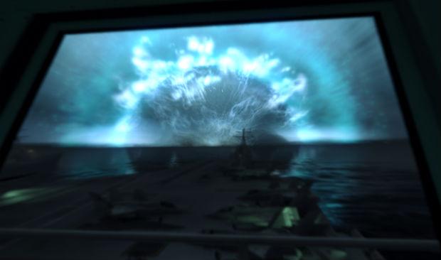 Ядерный удар по острову