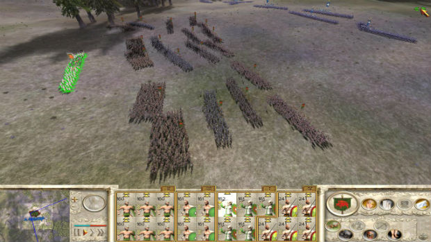 Тактический режим Rome Total war
