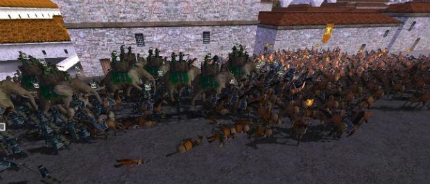 Слоны против кавалерии