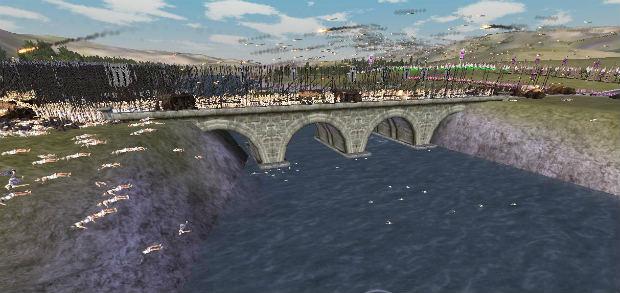 Бой на мосту