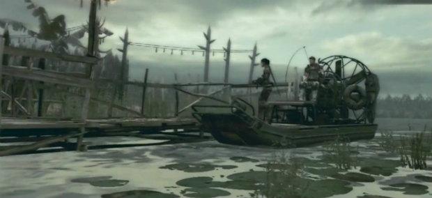 resident evil 5 лодка
