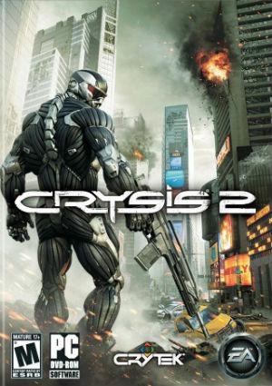 crysis 2 обложка диска