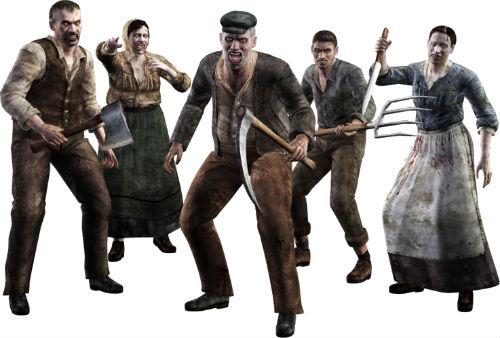 Зомби селяне