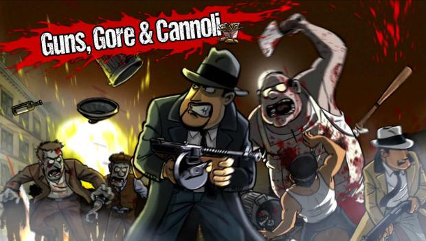 Guns, Gore and Cannoli-logo