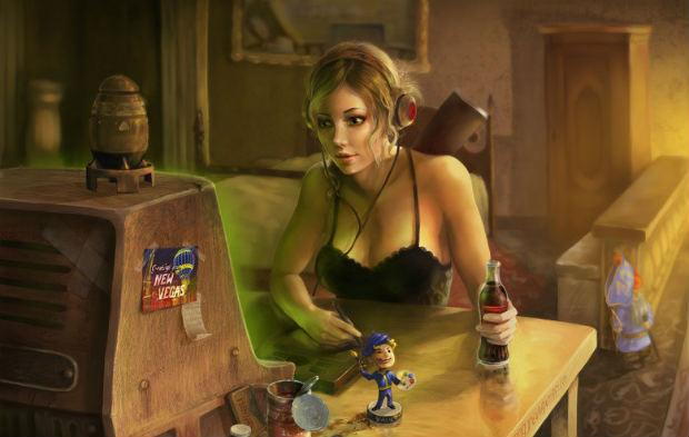 fallout+computer+girl-art