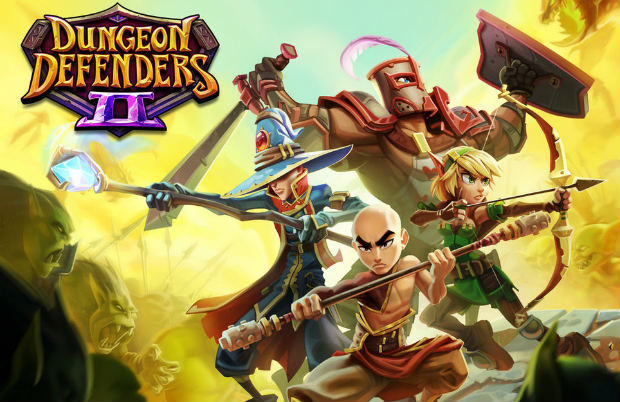 Dungeon Defenders II-logo