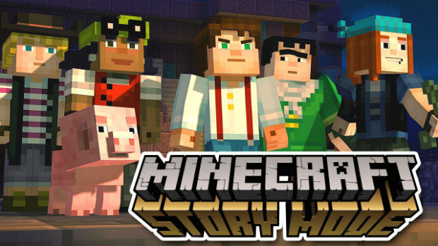 Minecraft Story Mode-logo