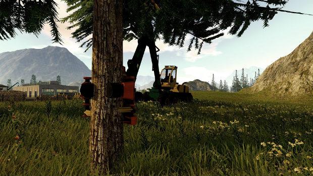 Forestry 2017 The Simulation игра симулятор
