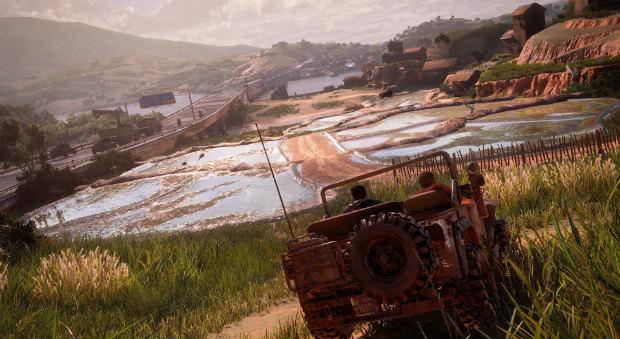 Uncharted 4 геймплей видео