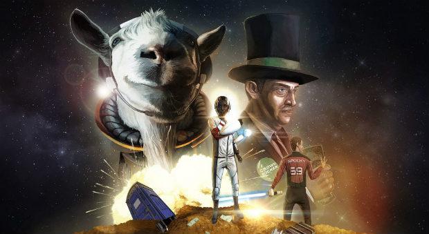 Релизный трейлер Goat Simulator Waste of Space