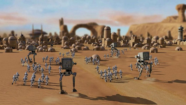 Star Wars отменённая РТС