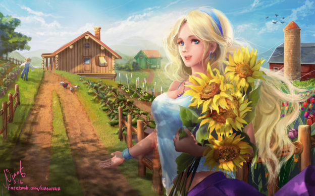 Stardew Valley-art-арт