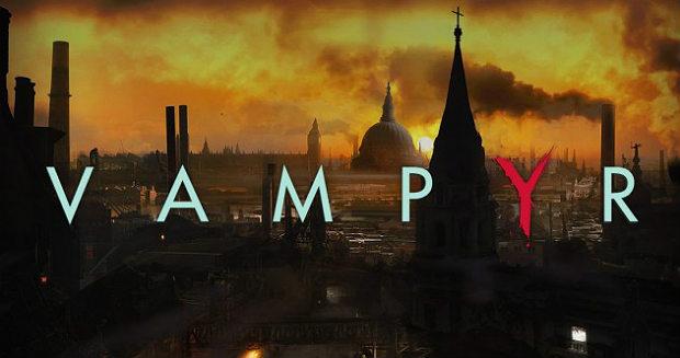 Vampyr лого игра