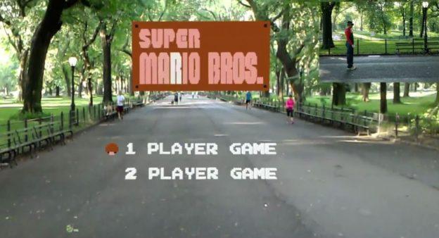 Super Mario Bros AR