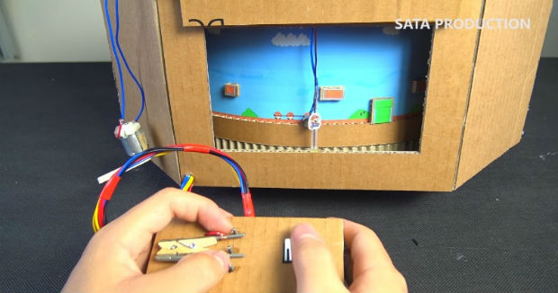 How to Make Super Mario Bros Game Using Cardboard
